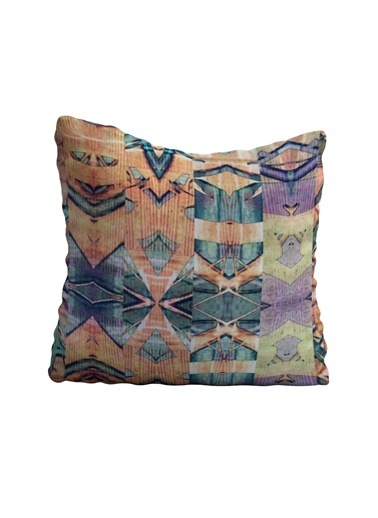 Lyn Home & Decor Soft Desenler Yastık Kılıfı 42X42 Renkli